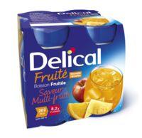Delical Boisson Fruitee Nutriment Multi Fruits 4bouteilles/200ml à Saint-Maximim