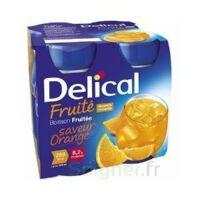 DELICAL BOISSON FRUITEE Nutriment orange 4Bouteilles/200ml à Saint-Maximim