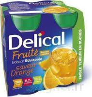 DELICAL BOISSON FRUITEE Nutriment édulcoré orange 4Bouteilles/200ml à Saint-Maximim