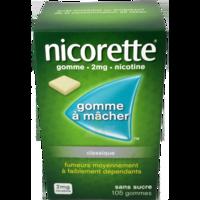 NICORETTE 2 mg Gom à mâcher médic sans sucre menthe fraîche Plq/105gom à Saint-Maximim