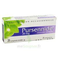 Pursennide 20 Mg, Comprimé Enrobé à Saint-Maximim