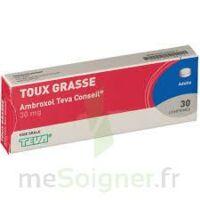 AMBROXOL TEVA CONSEIL 30 mg, comprimé à Saint-Maximim