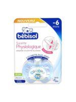 Bebisol Slim Sucette Physiologique Silicone Jour Garçon T1 à Saint-Maximim