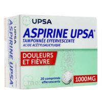 Aspirine Upsa Tamponnee Effervescente 1000 Mg, Comprimé Effervescent à Saint-Maximim