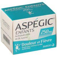 Aspegic Enfants 250, Poudre Pour Solution Buvable En Sachet-dose à Saint-Maximim