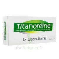Titanoreine Suppositoires B/12 à Saint-Maximim