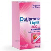 Dolipraneliquiz 300 mg Suspension buvable en sachet sans sucre édulcorée au maltitol liquide et au sorbitol B/12 à Saint-Maximim