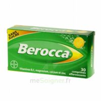 Berocca Comprimés effervescents sans sucre T/30 à Saint-Maximim