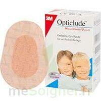 Opticlude Pansement orthoptique chair mini 5x6cm B/20 à Saint-Maximim