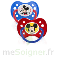Dodie Disney Sucette anatomique silicone +6mois Mickey Lot/2 à Saint-Maximim