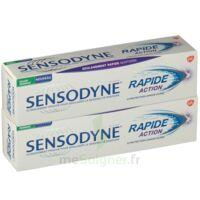 Sensodyne Rapide Pâte Dentifrice Dents Sensibles 2*75ml à Saint-Maximim