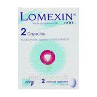 LOMEXIN 600 mg Caps molle vaginale Plq/2 à Saint-Maximim
