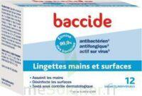 Baccide Lingette Désinfectante Mains & Surface 12 Pochettes à Saint-Maximim