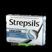 Strepsils lidocaïne Pastilles Plq/24 à Saint-Maximim