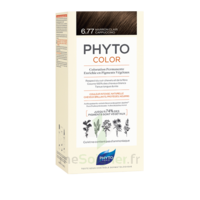 Phytocolor Kit coloration permanente 6.77 Marron clair cappuccino à Saint-Maximim