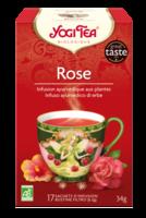 Yogi Tea Tisane AyurvÉdique Rose Bio 17sach/2g à Saint-Maximim