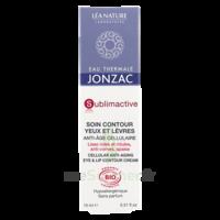 Jonzac Eau Thermale Sublimactive Crème soin contour yeux lèvres jeunesse immédiate 15ml à Saint-Maximim