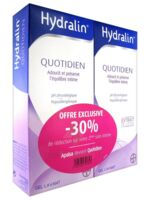Hydralin Quotidien Gel lavant usage intime 2*400ml à Saint-Maximim
