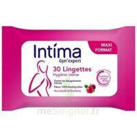Intima Gyn'Expert Lingettes Cranberry Paquet/30 à Saint-Maximim