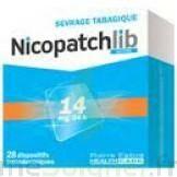 NICOPATCHLIB 14 mg/24 h Dispositifs transdermiques B/7 à Saint-Maximim