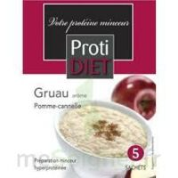 Protidiet - Gruau Arôme Pomme-Cannelle B/5 à Saint-Maximim