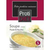 Protidiet - Potage Arôme Poulet Nouilles B/5 à Saint-Maximim