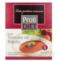 Protidiet - Soupe Tomate-basilic Boîte De B/5 à Saint-Maximim