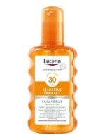 Eucerin Sun Sensitive Protect SPF30 Spray transparent corps 200ml à Saint-Maximim