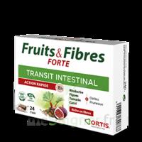 Ortis Fruits & Fibres Forte Cube à mâcher B/12