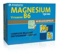 Arkovital Magnésium Vitamine B6 Gélules B/120 à Saint-Maximim