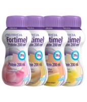 Fortimel Protein Nutriment multi saveurs caramel/vanille/fraise/mangue 4 Bouteilles/200ml à Saint-Maximim