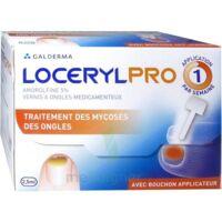 Locerylpro 5 % V Ongles Médicamenteux Fl/2,5ml+spatule+30 Limes+lingettes à Saint-Maximim