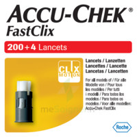 Accu-chek Fastclix Lancettes B/204 à Saint-Maximim