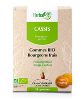 Herbalgem Gomme cassis bio B/24 à Saint-Maximim