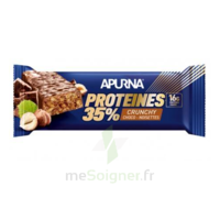 Apurna Barre hyperprotéinée crunchy chocolat noisette 45g à Saint-Maximim