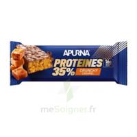 Apurna Barre Hyperprotéinée Crunchy Caramel 45g à Saint-Maximim