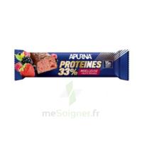 Apurna Barre Hyperprotéinée Moelleuse Fruits Rouges 45g à Saint-Maximim