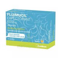 Fluimucil Expectorant Acetylcysteine 600 Mg Glé S Buv Adultes 10sach à Saint-Maximim