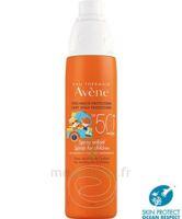 Avène Eau Thermale Solaire Spray Enfant 50+ 200ml à Saint-Maximim