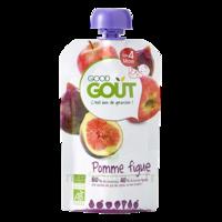 Good Goût Alimentation Infantile Pomme Figue Gourde/120g à Saint-Maximim