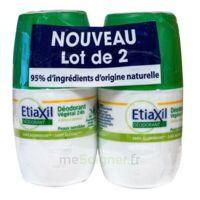Etiaxil Végétal Déodorant 24H 2Roll-on/50ml à Saint-Maximim