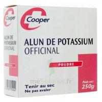 COOPER ALUN POTASSIUM Poudre B/250g à Saint-Maximim