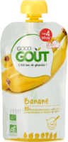 Good Goût Alimentation infantile banane Gourde/120g à Saint-Maximim