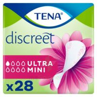 Tena Discreet Protection Urinaire Ultra Mini Sachet/28 à Saint-Maximim