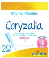 Boiron Coryzalia Solution Buvable Unidose B/20 à Saint-Maximim
