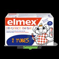 ELMEX DUO DENTIFRICE ENFANT, tube 50 ml x 2 à Saint-Maximim