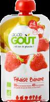 Good Goût Alimentation infantile fraise banane Gourde/120g à Saint-Maximim