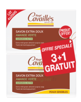 Rogé Cavaillès Savon Surgras Extra doux Amande verte 3x250g + 1 offert à Saint-Maximim