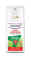 Paranix Moustiques Spray Zones Tropicales Fl/90ml à Saint-Maximim