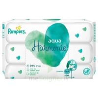 Pampers Aqua Harmonie Lingette Imprégnée 3 Paquets/48 à Saint-Maximim